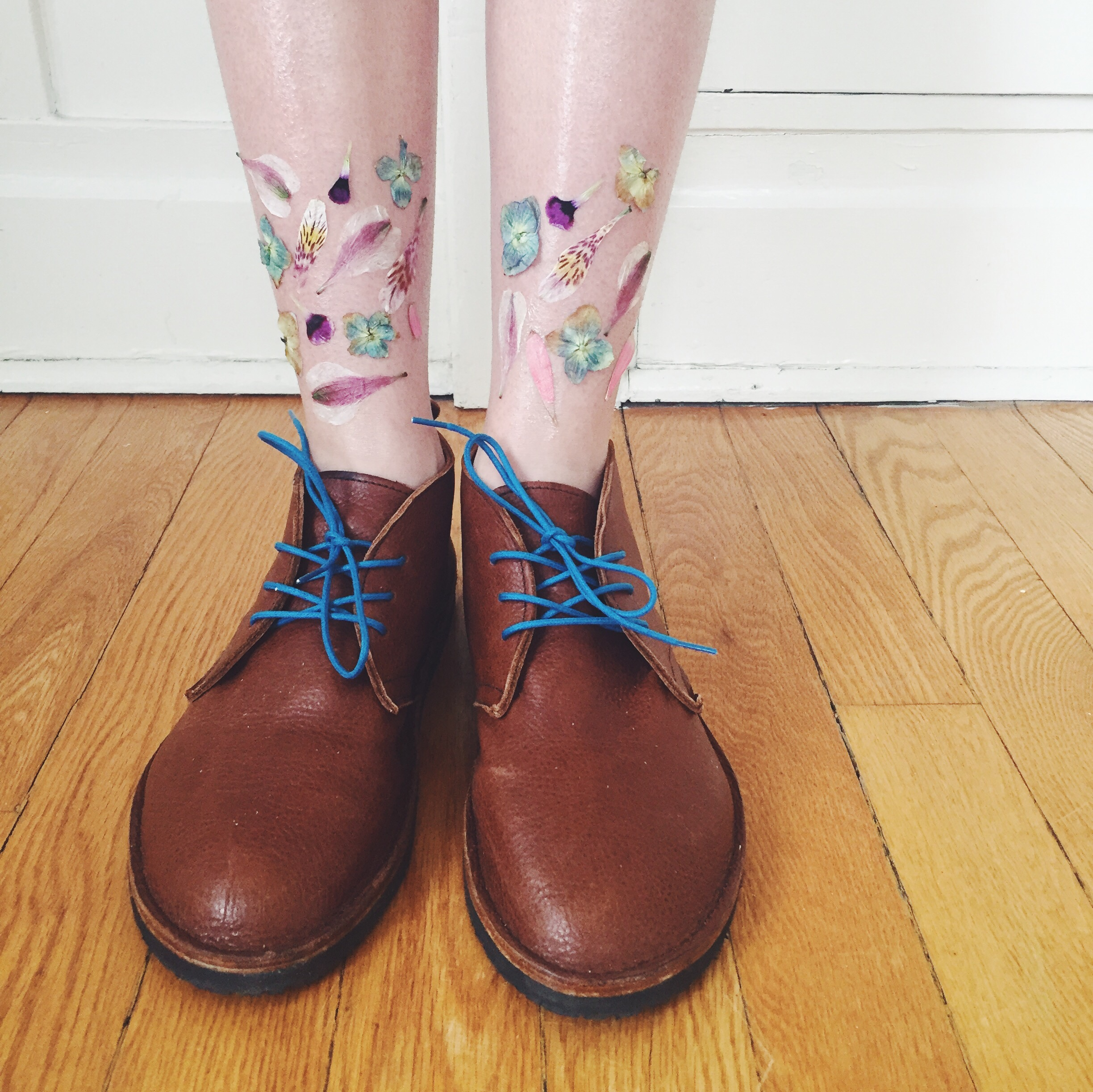Real Flower Temporary Tattoos Soft Star Shoes Hippie in Disguise